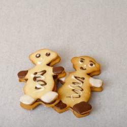 Biscuits fourrés Bonhomme -...