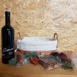 Pack Cadeau vin rouge et...
