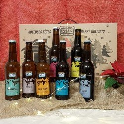 Coffret Noël - 7Peaks bière...
