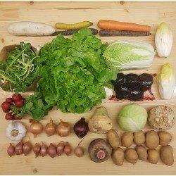 Panier de légumes de saison...