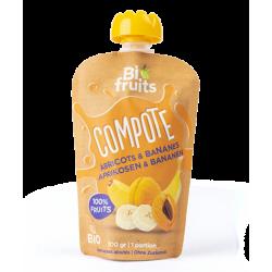 BIO - Compote Abricots banane